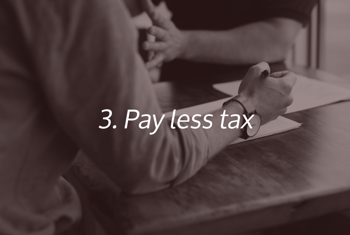 Pay Less Tax - One of the Super 6