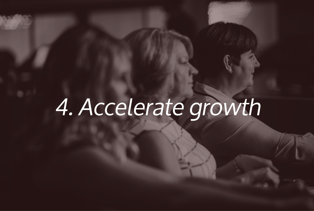 Accelerate Growth - One of the Super Six