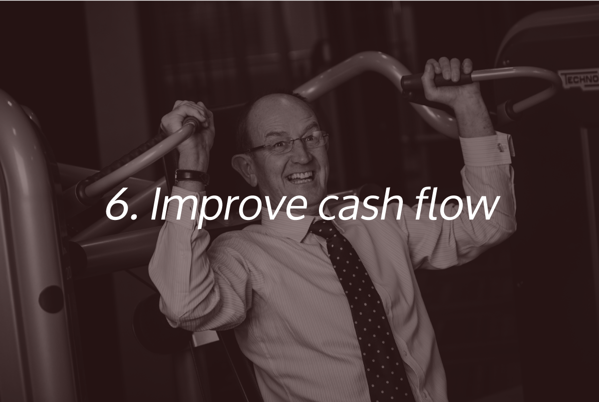 Improve Cashflow - One of the Super Six