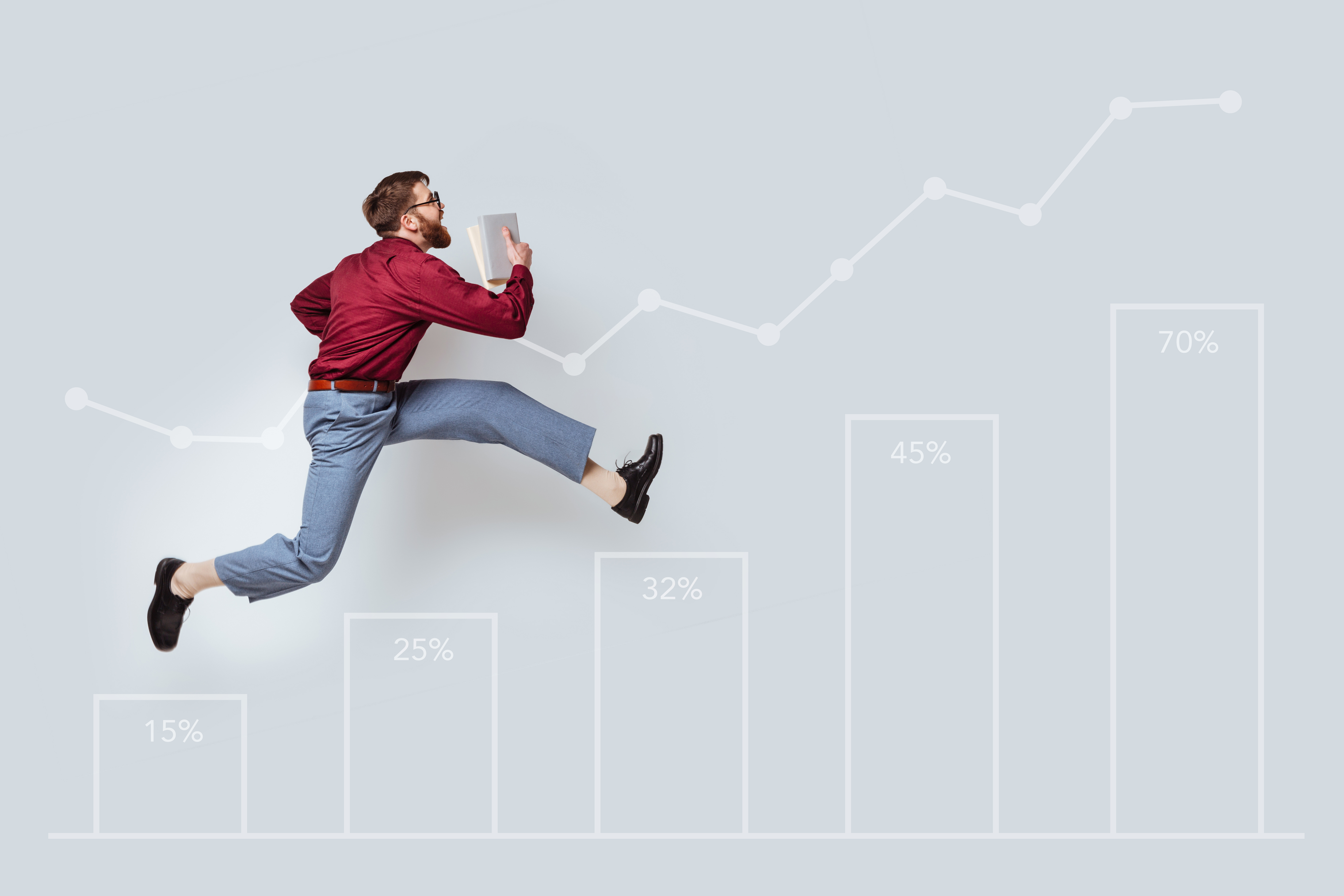 The five stages of steady business growth